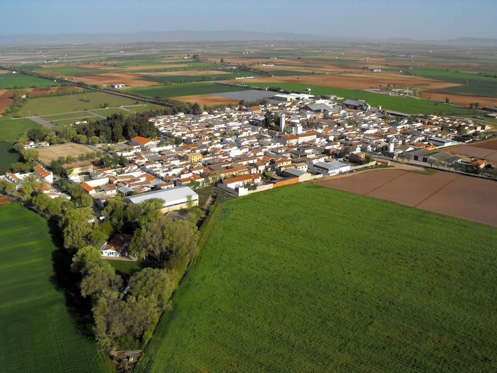 vista aere de los Llanos